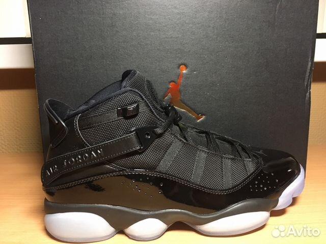 cargando atractivo Hablar con  Nike Jordan 6 Rings Black Ice купить в Москве на Avito ...