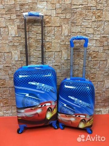 34afc04baec7 Пластиковый чемодан на колесах Молния Маквин - Личные вещи, Товары для  детей и игрушки - Москва - Объявления на сайте Авито