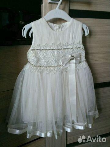 Платье для маленькой принцессы (от 8 место до 3х л 89044771948 купить 1