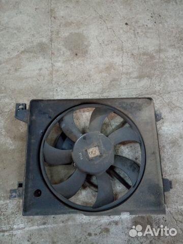 89226688886 Вентилятор радиатора кондиционера