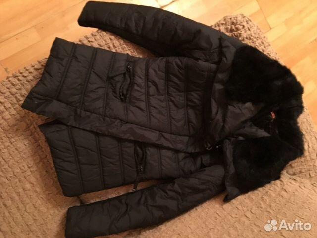 Куртка зимняя до -10, почти новая, дефект - крючки  89272231492 купить 1