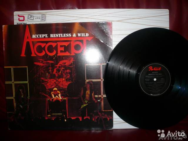 "Accept ""Restless Wild"" LP 1983"
