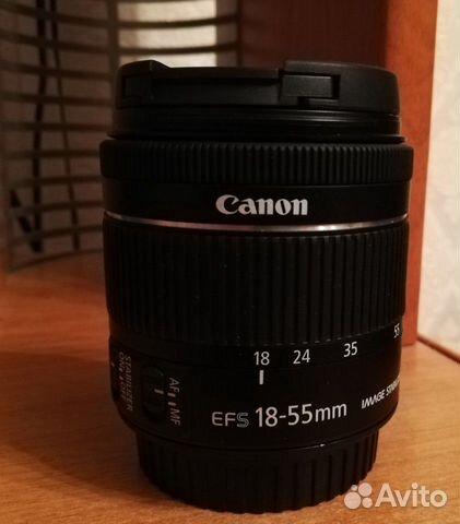 Объектив Canon ef-s 18-55mm F4.0-5.6 STM