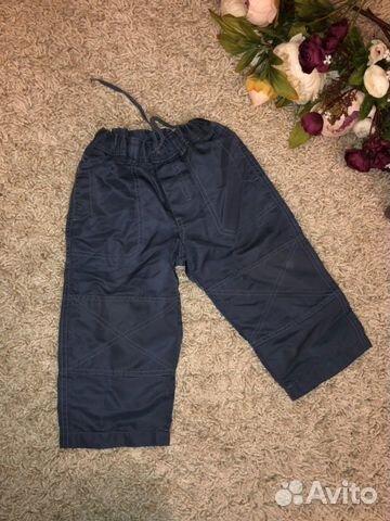 Теплые штаны H&M и комбенизон демисезон