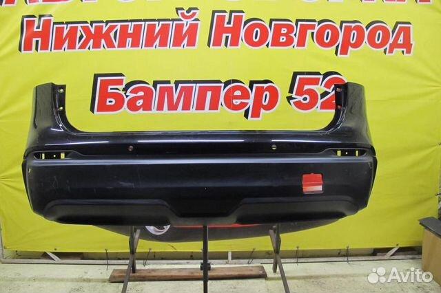 89524408730 Nissan Qashqai (J11) 2014) Бампер задний черный