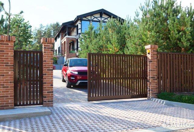 Откатные алюминиевые ворота  89375068699 купить 3