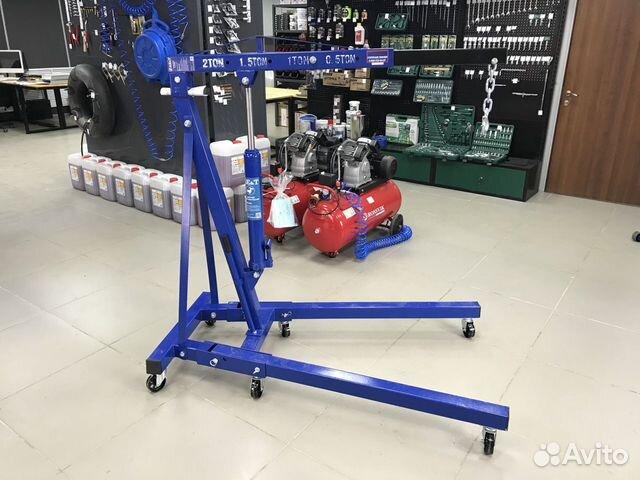 Кран гидравлический гаражный гусь AE&T T62202 89536911143 купить 1