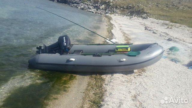Резиновая лодка с мотором. 9.9 купить 2