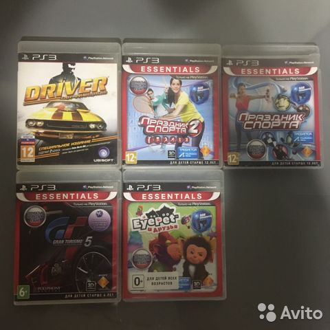 Игры ps3  89372153858 купить 1