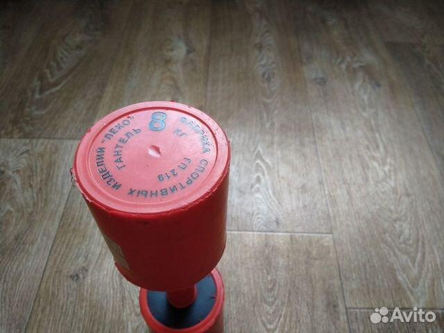 Гантеля 8 кг Фабрика спортивных изделей гп 219 (не купить 2