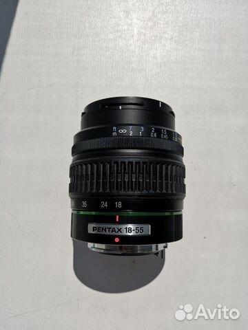 Smc Pentax DA 18-55 mm