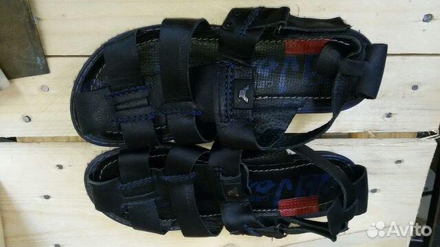 Сандали лёгкие кожаные 41 размер