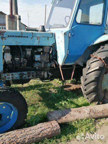 Трактор мтз80 с пиицепом  купить 1