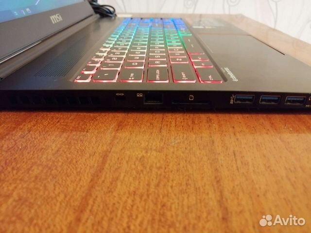 GS63VR 7RF - i7 7700,GTX 1060,16GB, M.2+HDD  89608550441 купить 5