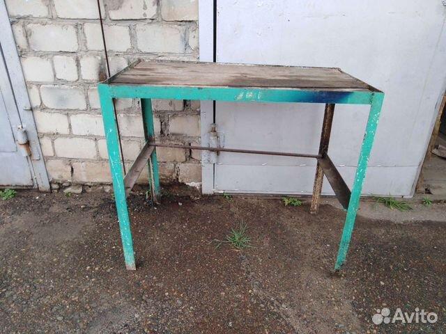 Стол из 45 уголка, размер 1х 0,56х0,87  89241577781 купить 2