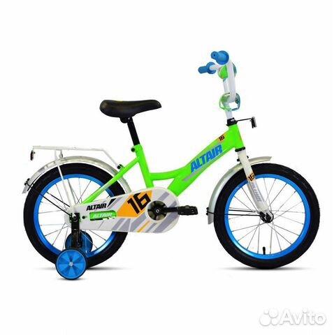 Детский велосипед Altair Kids 14 (зеленый)  89869601264 купить 1