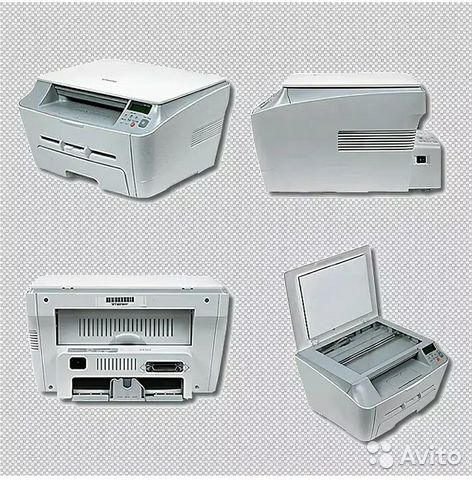 Лазерный принтер копир сканер samsung scx 4100