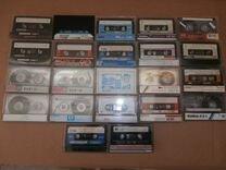 Аудио кассеты Basf, TDK, Sony