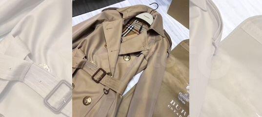 a7c270e0db52 Пальто тренч Burberry люкс купить в Москве на Avito — Объявления на сайте  Авито