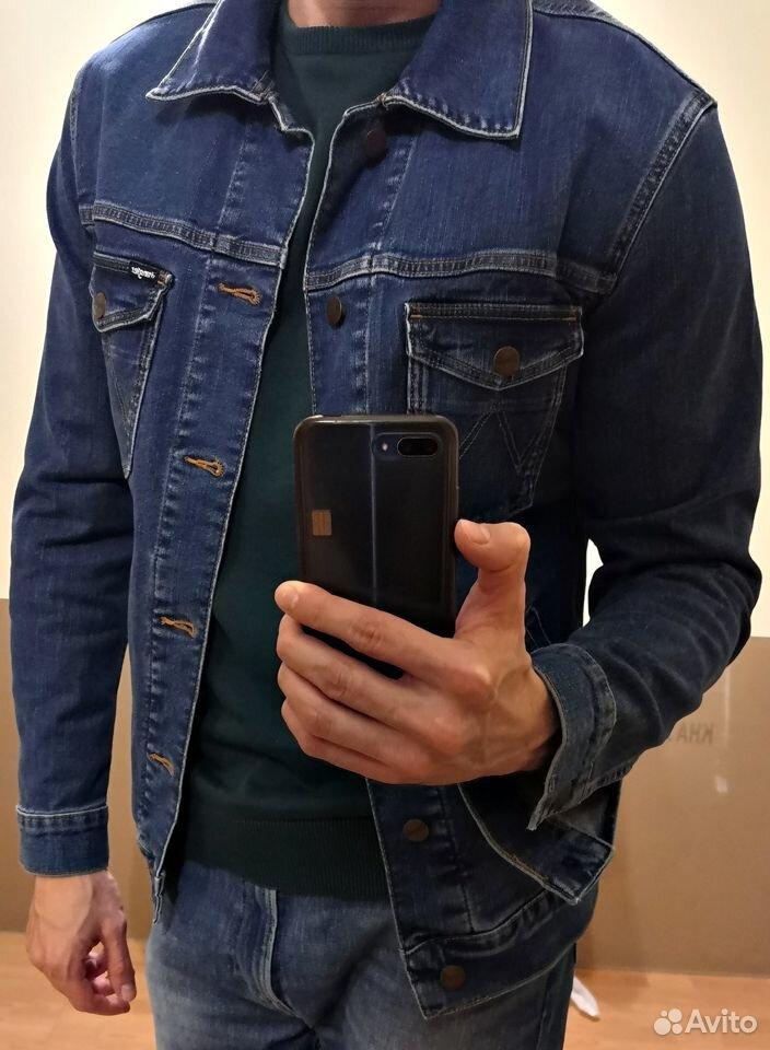 Куртка джинсовая Wrangler  89323238776 купить 1