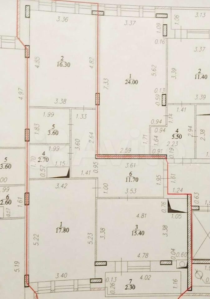 2-к квартира, 70 м², 10/10 эт.  89063829712 купить 7