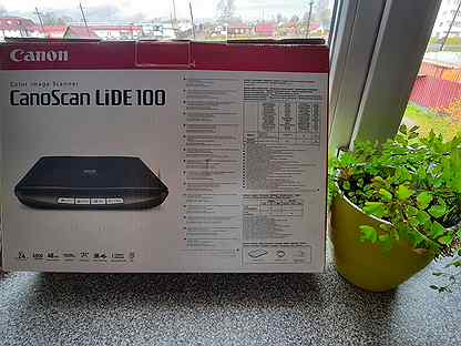 Сканер Canon LiDE 100