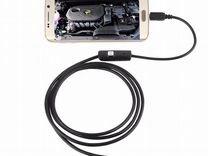 Камера эндоскоп для смартфона с подсветкой — Запчасти и аксессуары в Пензе