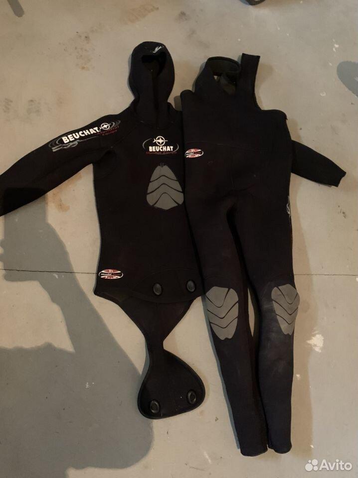 Гидрокостюм, ласты, носки, нож  89208555333 купить 1