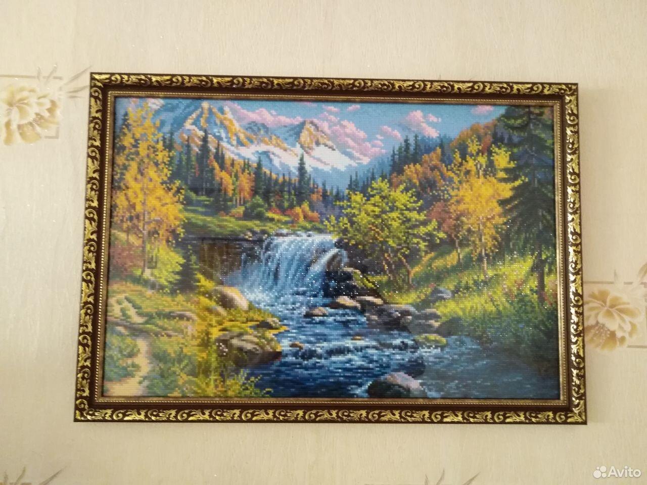 Картина алмазная мозайка готовая  89004762401 купить 1