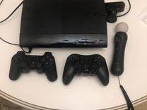 PlayStation 3 Sony 500GB (cech-4208C) +12дисков