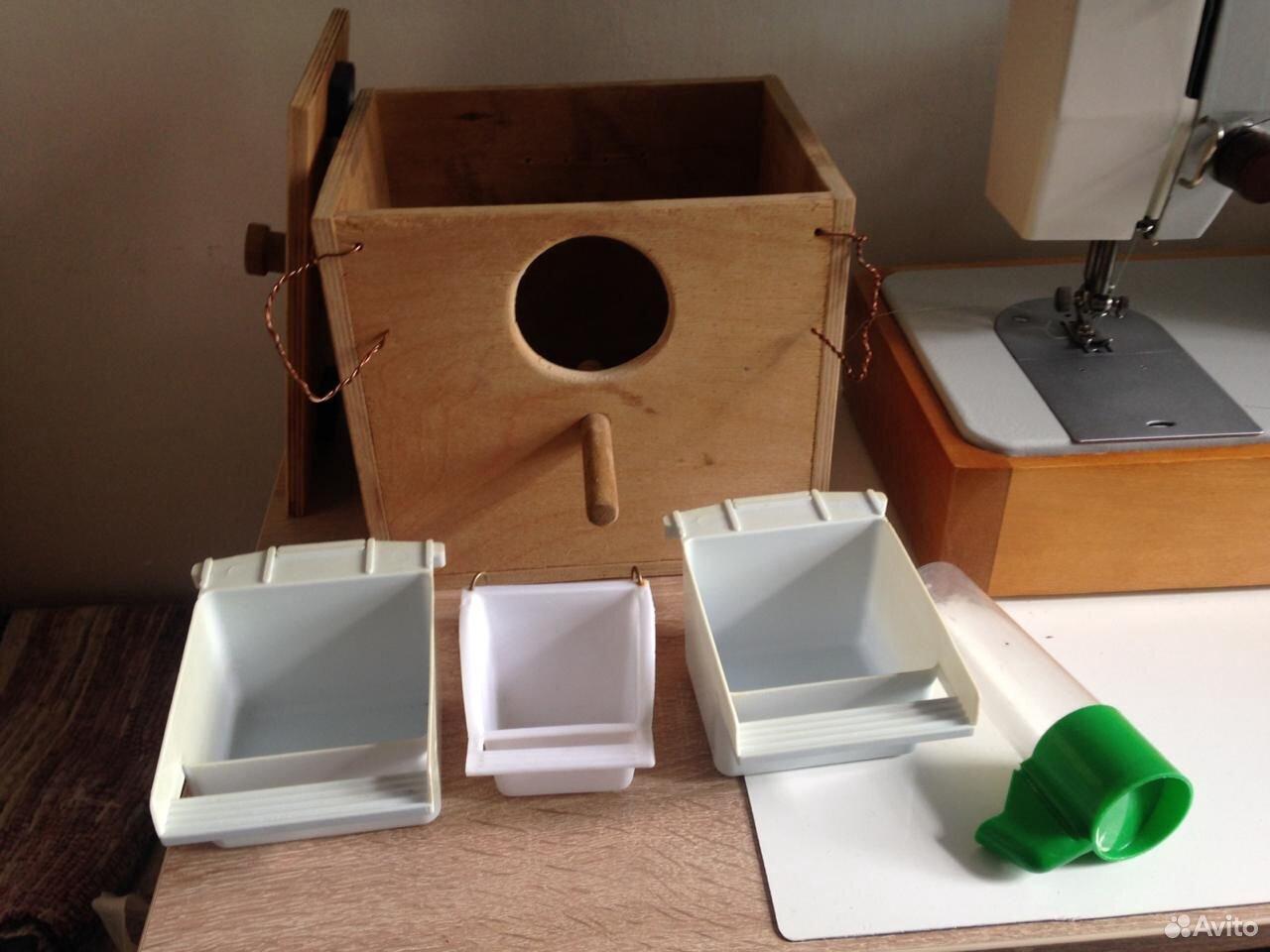 Гнездо для птиц навесное на клетку  89159578501 купить 2