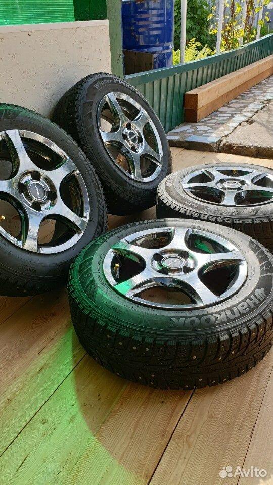Зимние шины с дисками  89098680826 купить 4