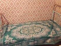 Кровать железная