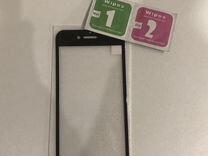 Защитное стекло на iPhone 7 black