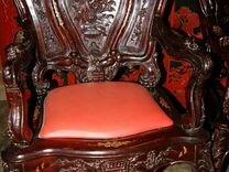 Китайский антикварный комплект. Красное дерево