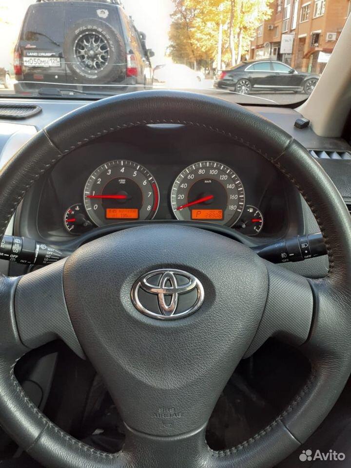 Toyota Corolla Fielder, 2008  89244484249 купить 6