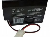 Аккумулятор Robiton 12V, 0.8Ah