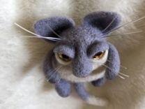 Брошь «котяра»