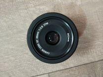 Объектив canon 40 mm f/2.8 stm