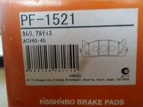 Колодки тормозные дисковые Nisshinbo PF-1521 — Запчасти и аксессуары в Новосибирске