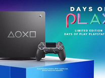 Ps4 slim 1tb limited edition days of play