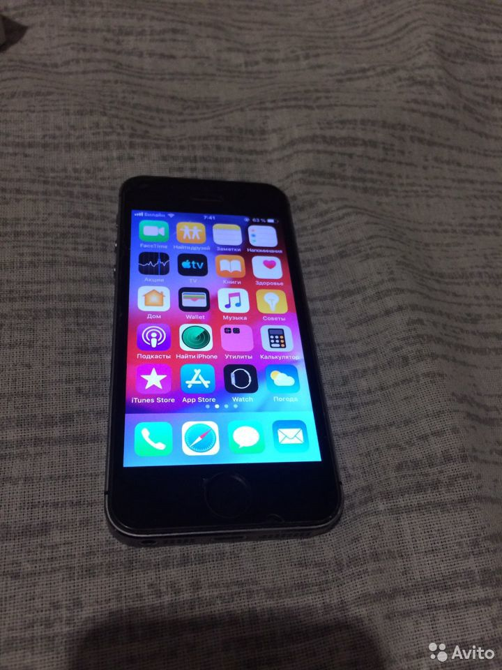 Телефон iPhone 5с  89609759427 купить 6