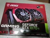 Видеокарта MSI GF1070TI 8Gb DDR5