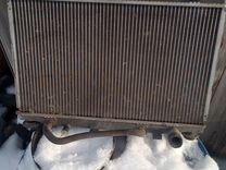 Радиатор охлаждения на мазду
