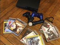PlayStation 3+ PlayStation Move + 9 игр