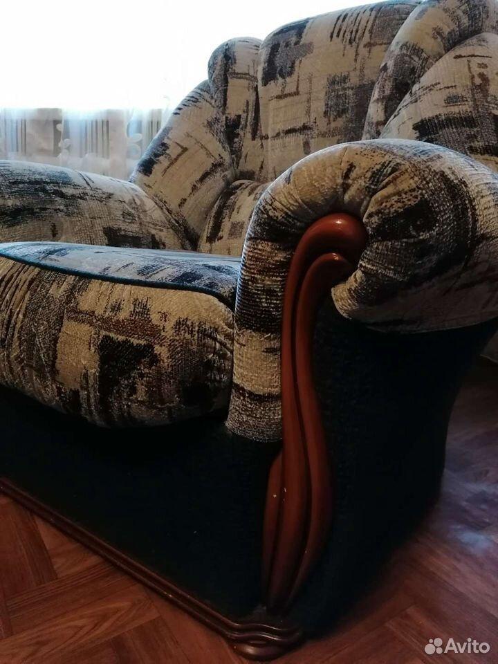 Диван и 2 кресла. отличное состояние  89023805566 купить 7