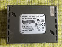 Коммутатор D-link 10/100 fast ethernet switch Б/У