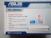 Wi-Fi Роутер asus WL-520GU (новый )