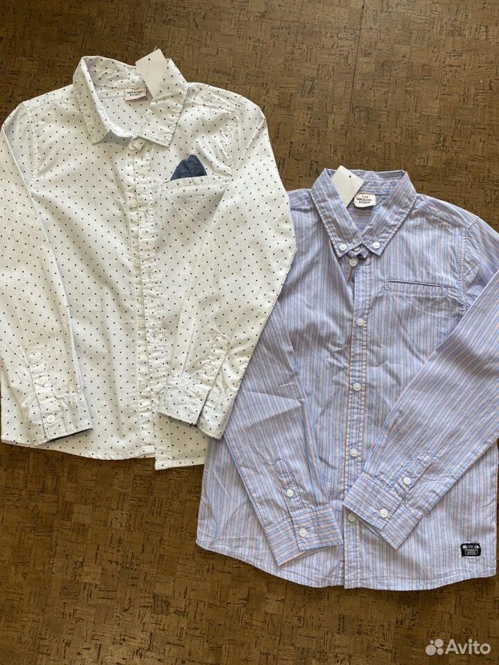 Новые Рубашки для мальчика 128  89145056445 купить 1
