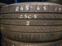 245 45 19 2шт б/у Continental Sport Contact 5